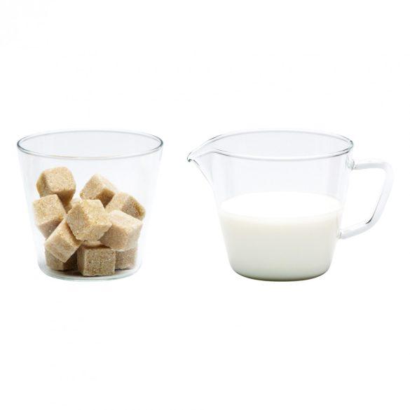 Sugar bowl and creamer NOVA