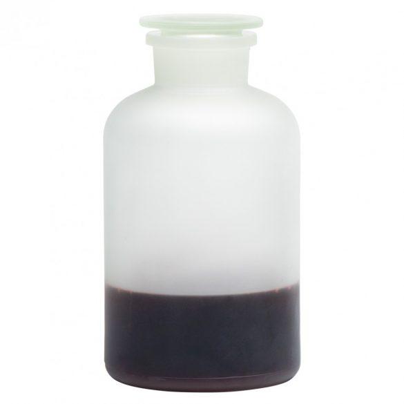Apothekerflasche MAXI satiniert