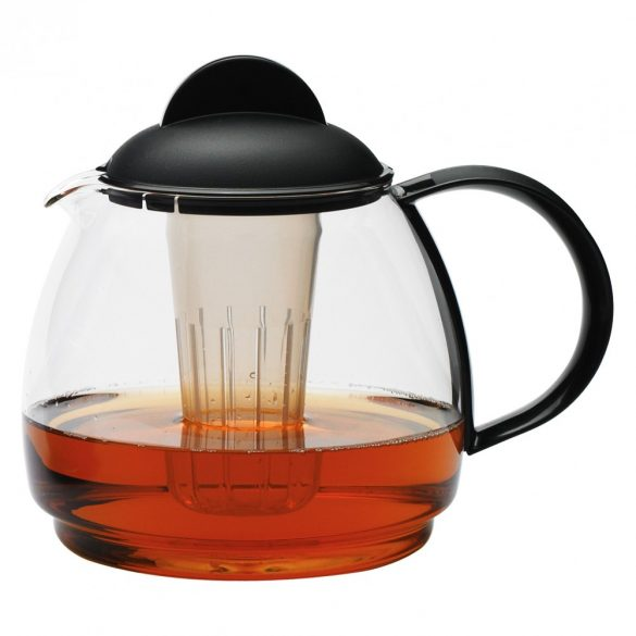 Tea jug 1.8 black 4 pcs