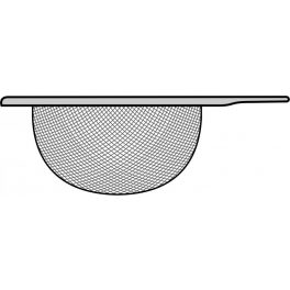 Stainless steel strainer for TEA TIME
