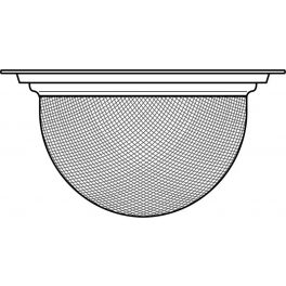 Stainless steel strainer for teapot GLOBE