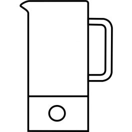 Glaskörper Teekanne SIGN 1,2