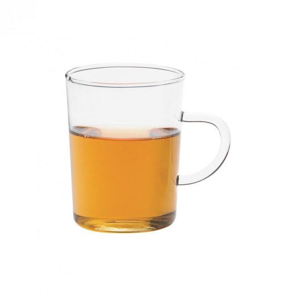 Teeglas  konisch mit Henkel 6 Stk