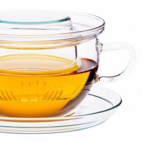 Teetassen und -gläser