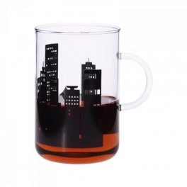 Mug OFFICE XL CITY black