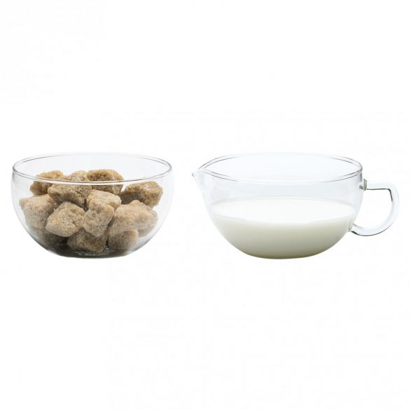 Sugar bowl and creamer MIKO