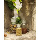 Apothecary bottle LARGE clear - 2 pcs