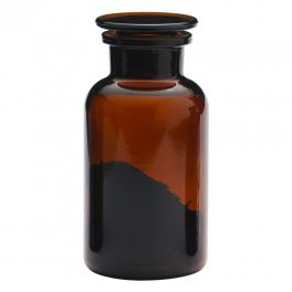 Apothecary bottle MEDIUM brown - 2 pcs