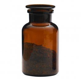 Apothecary bottle LARGE brown - 2 pcs