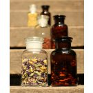Apothecary bottle MAXI clear