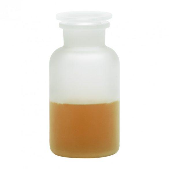 Apothecary bottle MEDIUM satined - 2 pcs