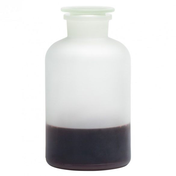 Apothecary bottle MAXI satined