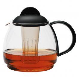 Tea jug 1.8 black 4 pcs