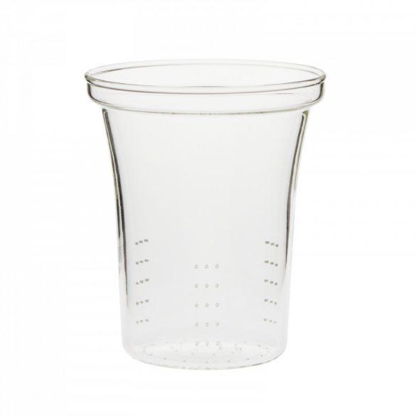 Premium glass strainer laser perforated