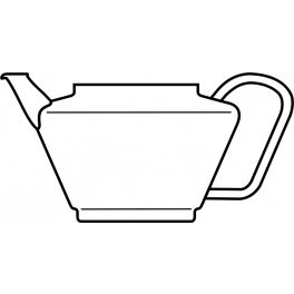 Glass body for teapot SOLO