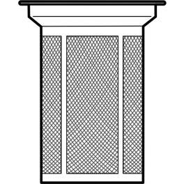 Stainless steel strainer for teapot SIGN / PISA 1.2