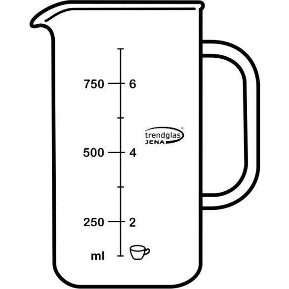 Glaskörper Kaffeebereiter 8 Tassen